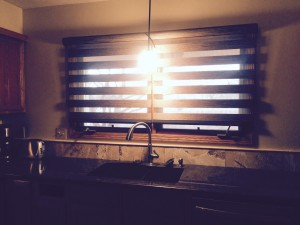 This product looks beautiful over the sink and compliments a variety of home decor.