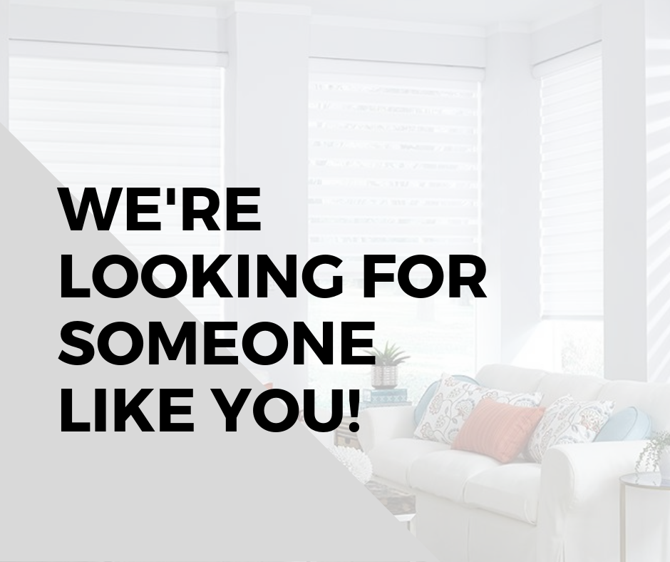We're looking for someone like you!